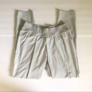 Athleta Light Gray Jogger Pants